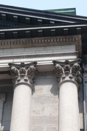 コリント式柱頭・アカンサスの葉