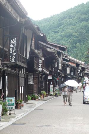 奈良井宿・街並み