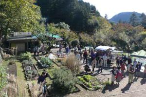 収穫祭・開会式