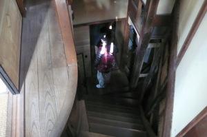 曲線の階段