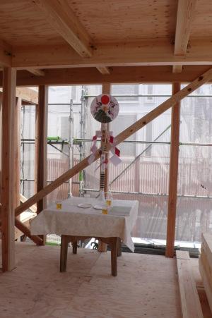 大井町の家・上棟式