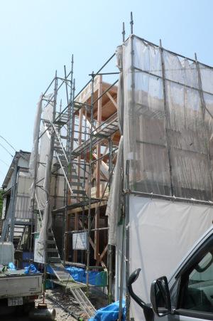 上棟・大井町の家