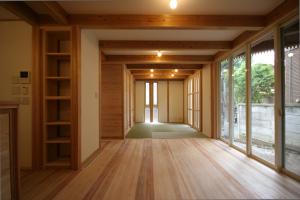 羽根木の家・1階リビング