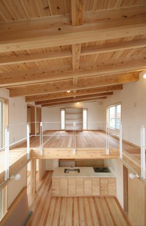 羽根木の家・ロフト