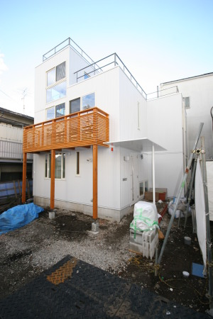 大井町の家・外観1