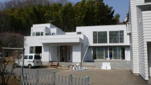 高幡不動の家