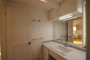 武蔵関の家・洗面室