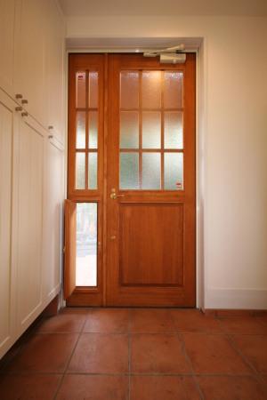 武蔵関の家・玄関戸