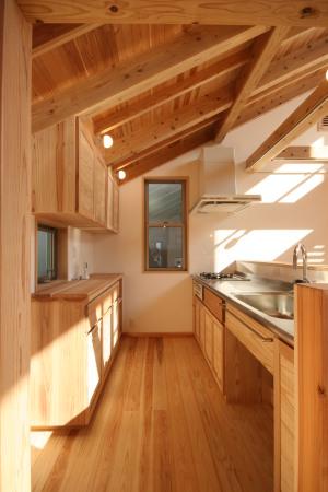 西荻窪の家・手作りキッチン