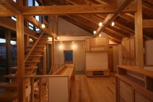 西荻窪の家・夕景2