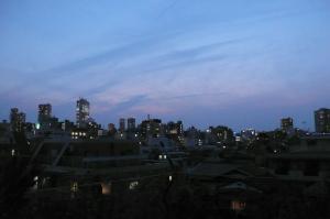 夏至の夕暮れ