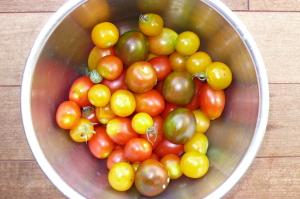 屋上菜園トマト