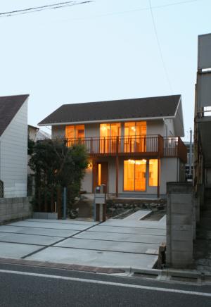 石神井公園の家外観1