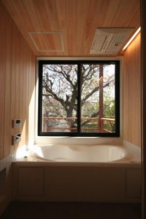府中の家・浴室