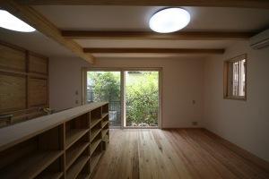 武蔵小金井の家・リビング・ダイニング2