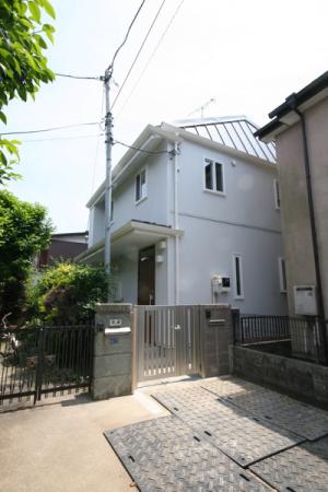 武蔵小金井の家・外観1