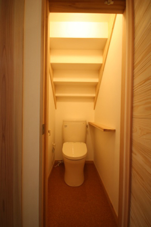 武蔵小金井の家・トイレ1