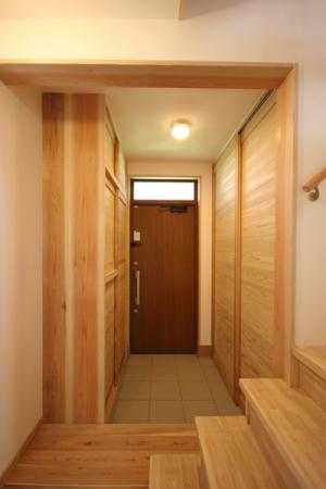 武蔵小金井の家・玄関1