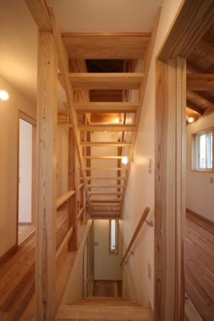 武蔵小金井の家・階段1