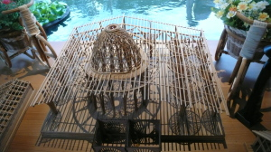 竹建築模型3