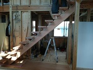 和田の家・階段2