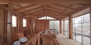 宇津木台の家